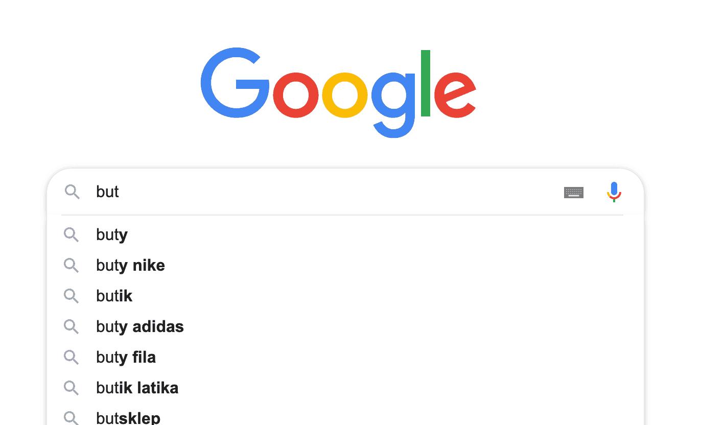 google podpowiedzi