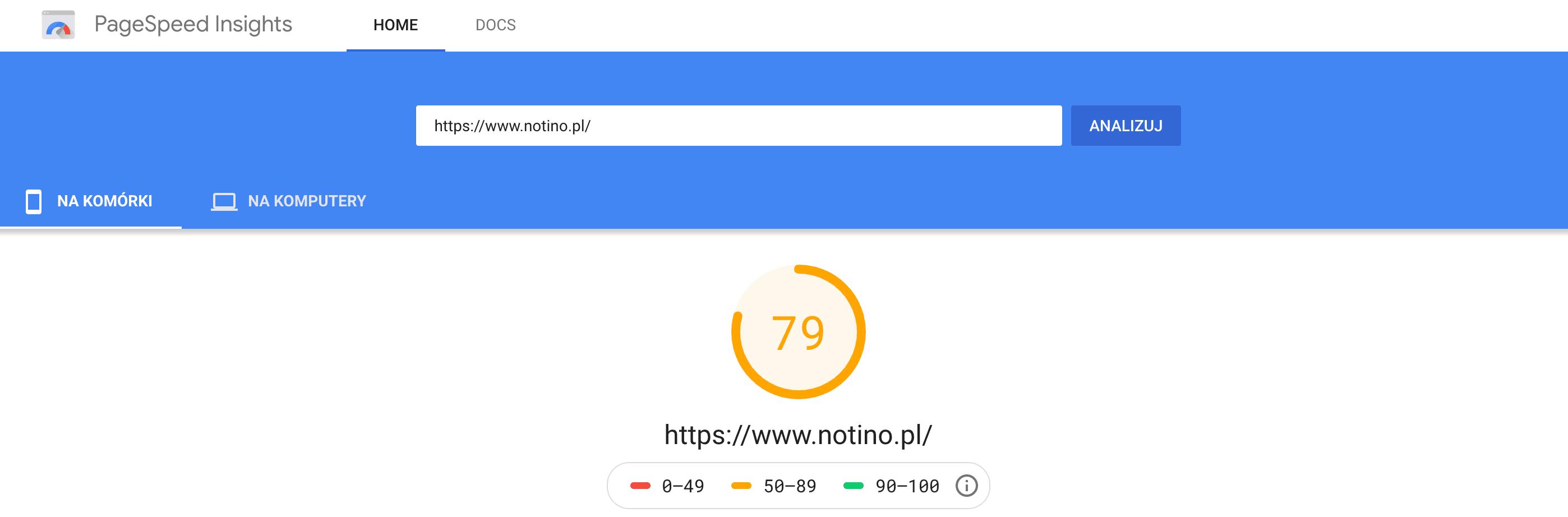 Sklep internetowy a szybkość ładowania strony